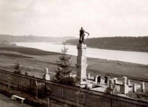 Kęsručio paminklas apie 1933 m.
